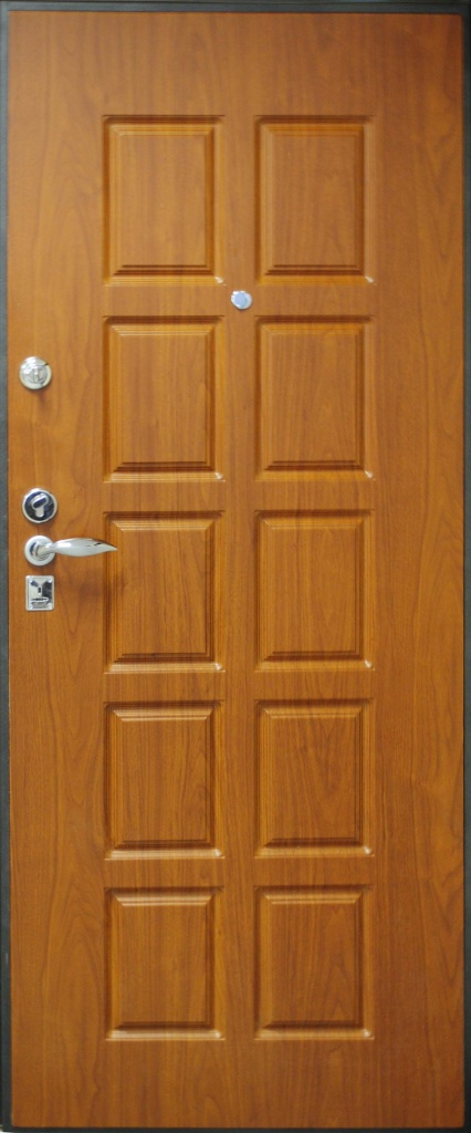 металлические двери порошковое напыление с двух сторон